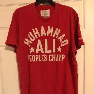 Under Armour Muhammad Ali T-shirt sz XL
